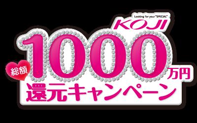 1000万円還元キャンペーン