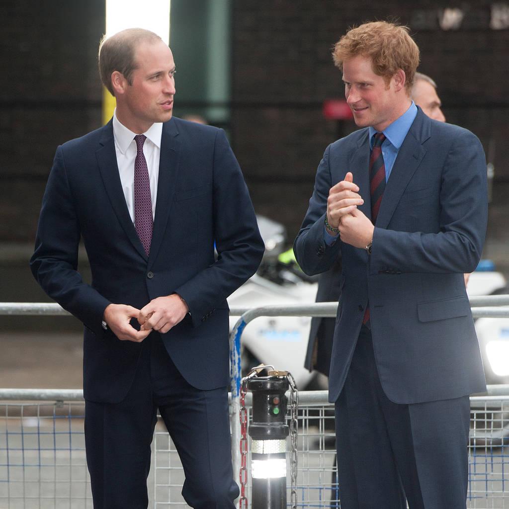 ウィリアム&ハリー王子