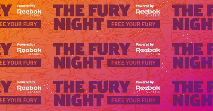 FURY NIGHT powered by Reebok CLASSIC_main