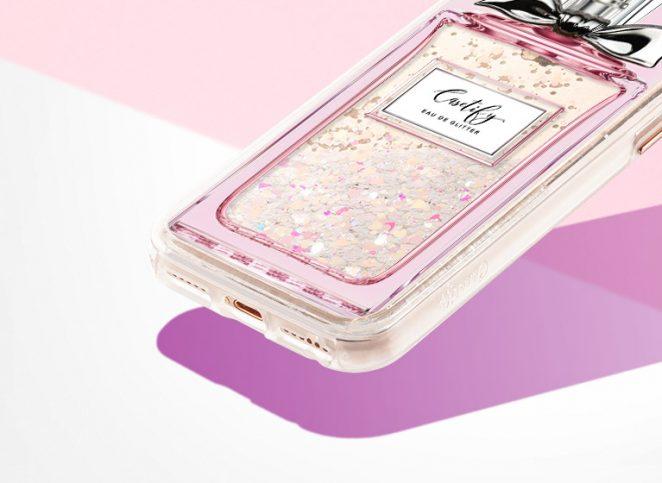casetify iphone case cute glitter