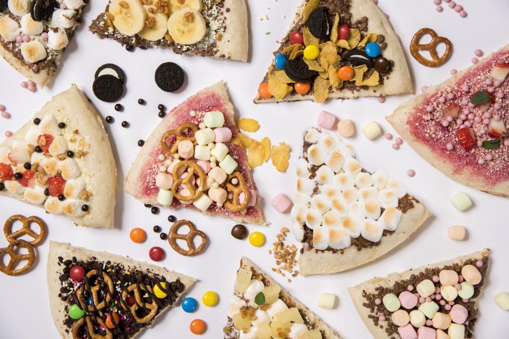マックスブレナー、チョコレートピザ