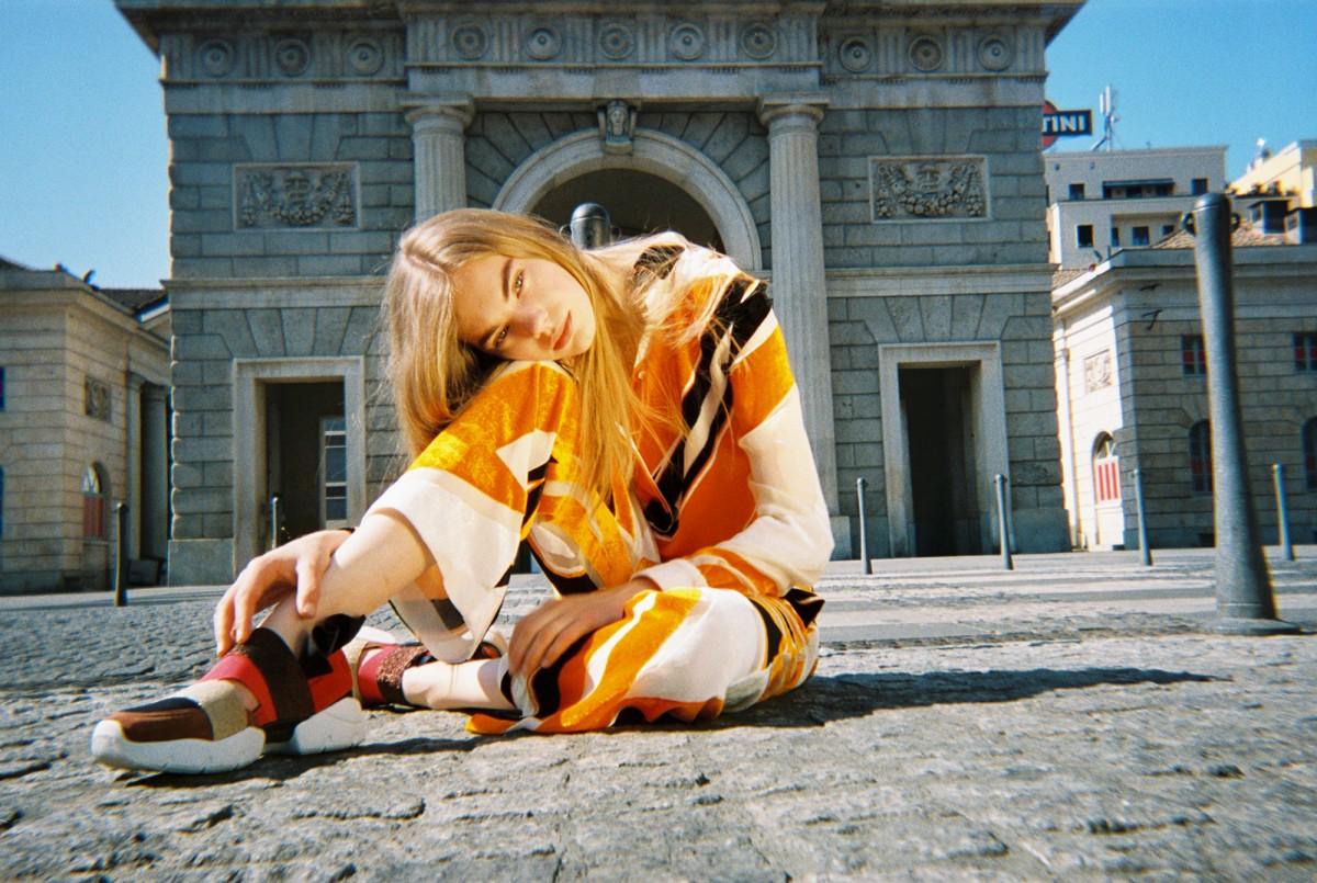 エミリオ・プッチ、限定、スニーカー、ローマ